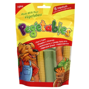 Pegetables Chews Mixed Vegetable Flavor, Small, 8 oz