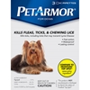 PetArmor for Dogs 0-22 lbs, 3 Pack
