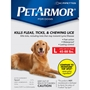 PetArmor for Dogs 45-88 lbs, 6 Pack