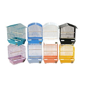 "Prevue Hendryx Assorted Small Bird Cages, 12"" x 9"" x 16"" - 8 Pack"