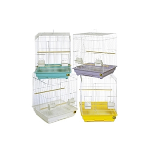 "Prevue Hendryx Economy Tall Bird Cage, 18"" x 18"" x 24"" - 4 Pack"