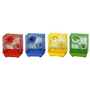 "Prevue Hendryx Hamster Cage, 13"" x 10"" x 14"" - 4 Pack"