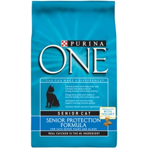 Purina One Senior Protection Cat Food, 3.5 lb - 6 Pack