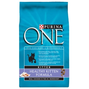 Purina One SmartBlend Kitten Food, 7 lb - 5 Pack