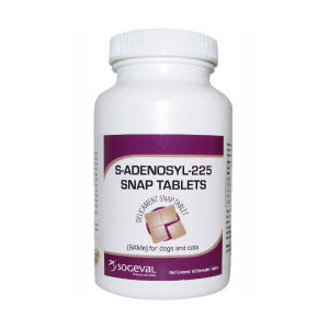 S-Adenosyl-225 (SAMe) for Dogs & Cats, 30 Snap Tablets