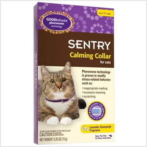 Sentry Calming Collar for Cats - 3 Pack