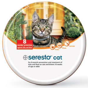 Seresto Flea and Tick Collar for Cats and Kittens