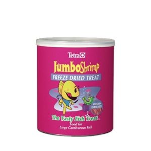Tetra JumboShrimp Freeze Dried Treat, 14 oz