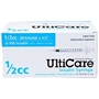 "UltiCare Insulin Syringe U-100 1/2 cc, 28 gauge x 1/2"" - 100 Pack"