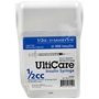 "UltiCare UltiGuard All-In-One Dispense & Dispose Container with 100 UltiCare 1/2 cc, 31 gauge x 5/16"" Insulin Syringes"