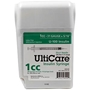 "UltiCare UltiGuard All-In-One Dispense & Dispose Container with 100 UltiCare 1 cc, 31 gauge x 5/16"" Insulin Syringes"