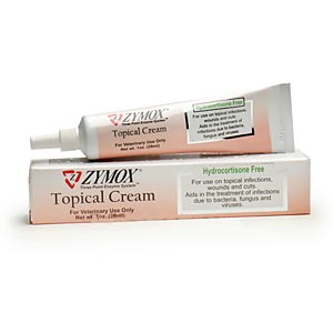 Zymox Topical Cream Hydrocortisone Free, 1 oz