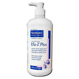 Allerderm EFA-Z Plus for Dogs and Cats, 8 oz