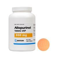 Allopurinol 300 mg, 100 Tablets