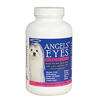 Angels Eyes Tear Stain Supplement for Dogs - Beef Flavor, 120 gm (4 oz)