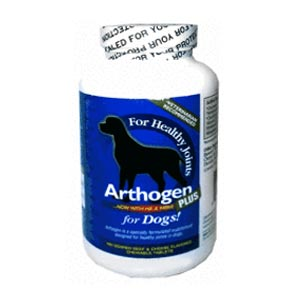 Arthogen Plus with Hyaluronic Acid and MSM for Dogs, 180 Chewable Tablets
