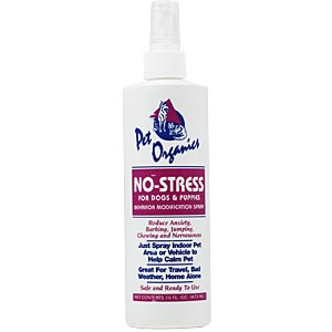 Pet Organics No-Stress For Dogs and Puppies, 16 oz. Spray