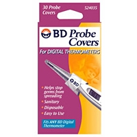 BD Digital Rectal Thermometer Probe Covers, 50