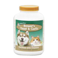 Brewers Yeast and Garlic Tablets, 100 Tablets