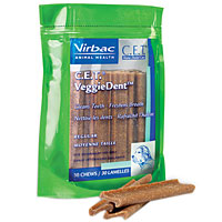 CET VeggieDent Chews, Regular, 30