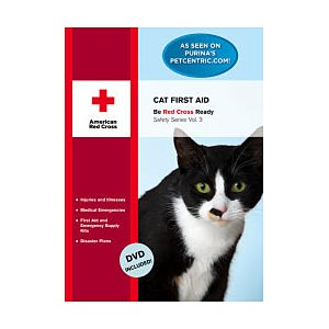 Cat First Aid Book & DVD