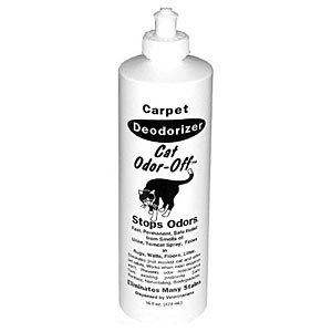 Cat Odor-Off Carpet Deodorizer, 16oz Soaker