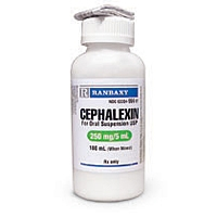 Cephalexin Oral Suspension 250mg/5mL, 100 mL