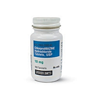 Chlorpromazine 25 mg, 100 Tablets