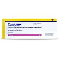 Clavamox 250 mg, 210 Tablets