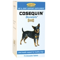 Cosequin Bonelets Hip and Joint Supplement for Dogs, 85 Chewable Tablets