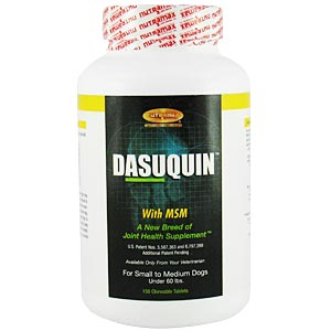 Dasuquin MSM Small/Medium Dog, 150 Chewable Tablets