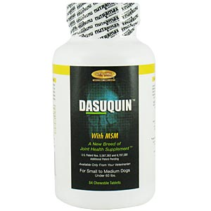 Dasuquin MSM Small/Medium Dog, 84 Chewable Tablets