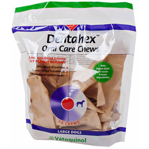 Dentahex Oral Care Chews, Large, 18 oz