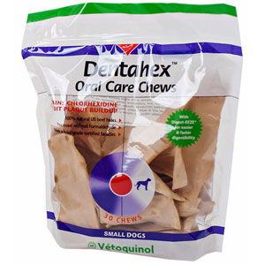 Dentahex Oral Care Chews, Small, 18 oz