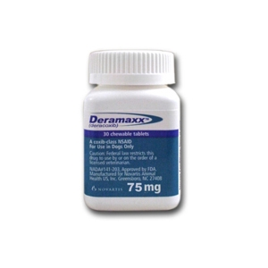 Deramaxx 75 mg, 60 Chewable Tablets