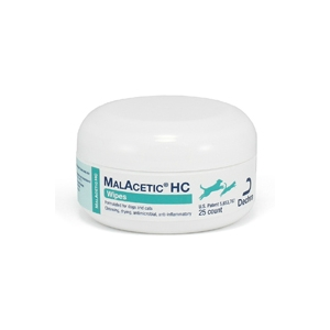 DermaPet MalAcetic HC Wipes, 25