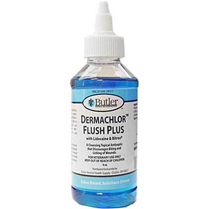 Dermachlor Flush Plus, 4 oz