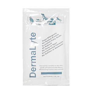 Dermalyte Shampoo for Dogs and Cats, 1 oz Travel Pouch
