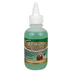 Ear Wash With Tea Tree oil , 4 oz
