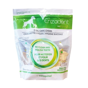 Enzadent Oral Care Chews for Small Dogs, 18 oz