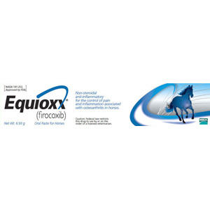 Equioxx (firocoxib) Oral Paste for Horses, 6.93 g Syringe