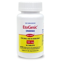 EtoGesic (etodolac) 150 mg, 90 Tablets