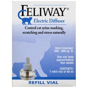 feliway electric diffuser vial