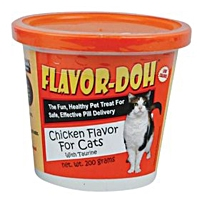Flavor-Doh Chicken Flavor for Cats, 200 gm
