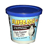 Flavor-Doh Fish Flavor for Cats, 200 gm