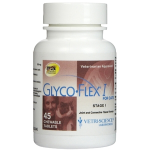 Glyco-Flex I for Cats, 45 Chewable Tablets