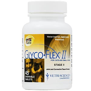 Glyco-Flex II for Cats and Small Dogs, 45 Chewable Tablets