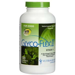 Glyco-Flex II for Dogs, 120 Tablets