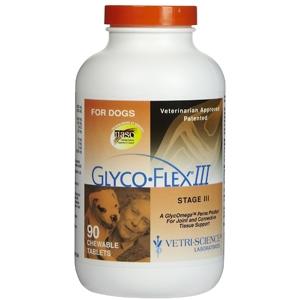 Glyco-Flex III for Dogs, 90 Tablets