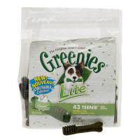 Greenies Lite Treat Pack, Teenie, 12 oz (43 Treats)